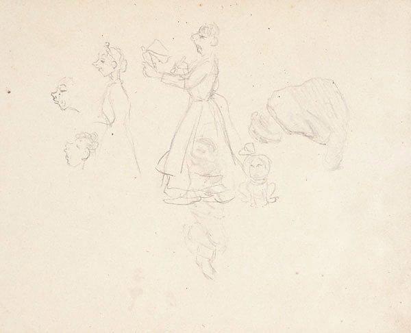 An image of Fragmentary sketchbook