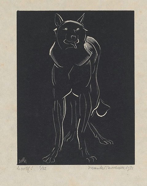 An image of Woolf! by Frank Medworth