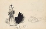 An image of Small sketchbook (caricatures) by Lyonel Feininger