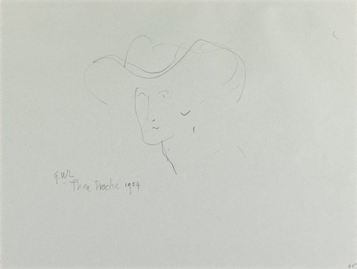 An image of G.W.L: Thea Proctor 1904 by Eric Thake