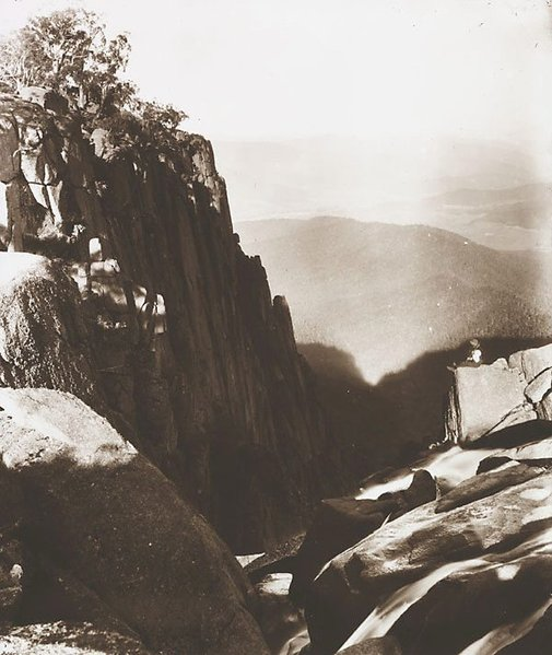 An image of Falls, Buffalo Gorge by Nicholas Caire