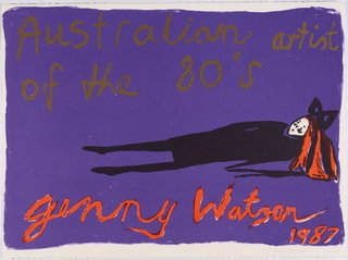 AGNSW collection Jenny Watson Australian artist of the 80s (1987) 39.1989