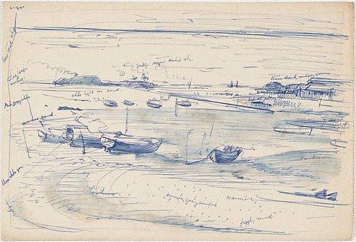 An image of Botany Bay, Sydney by Nora Heysen