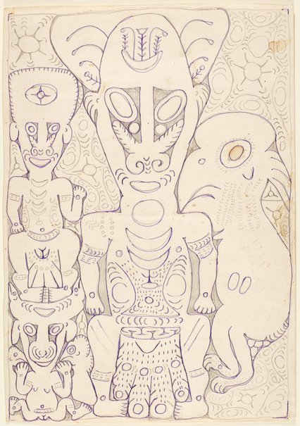 An image of Mopul and his followers by Simon Nowep
