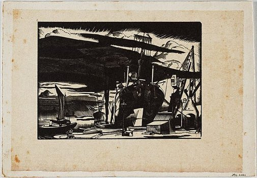An image of Dockscape by Frank Medworth