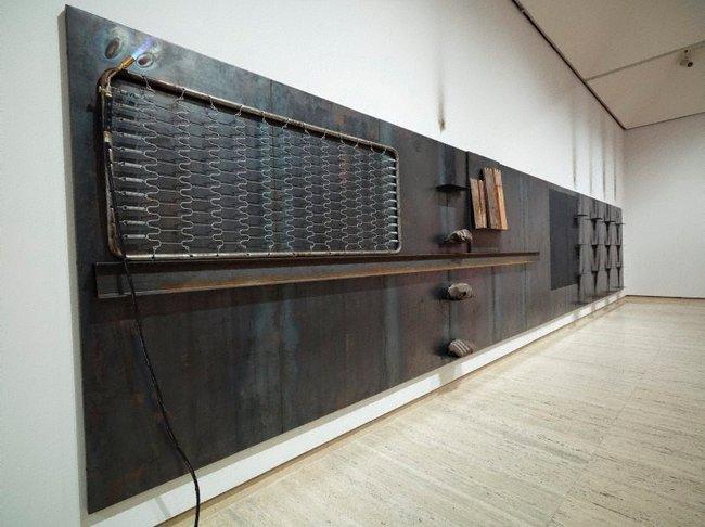 AGNSW collection Jannis Kounellis Untitled 1984/87 (1987) 393.1988.a-tt