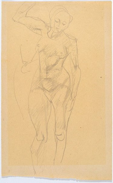 An image of Study of female nude by Eric Wilson