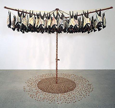 Fruit bats, (1991) by Lin Onus