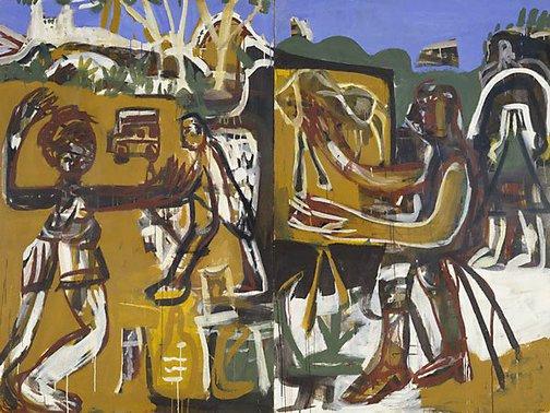 An image of Artist in residence by Joe Furlonger