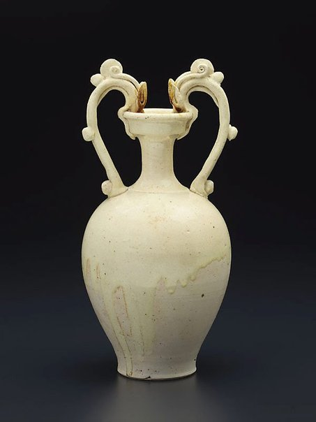 An image of Ewer with double dragon handles by