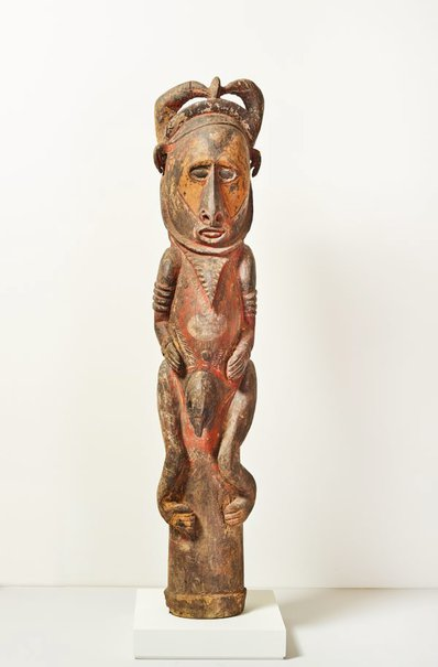 An image of Urungwall (sacred figure) by Abelam people