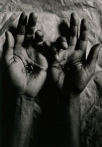 Untitled (crucified hands), 1992, Sacrifice by Michael Riley