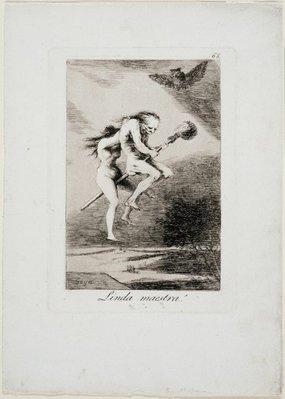 Alternate image of Pretty teacher! by Francisco de Goya Y Lucientes