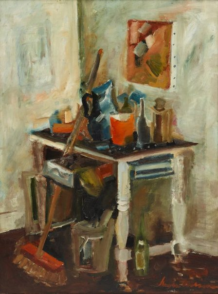 An image of The studio corner by Francis Lymburner