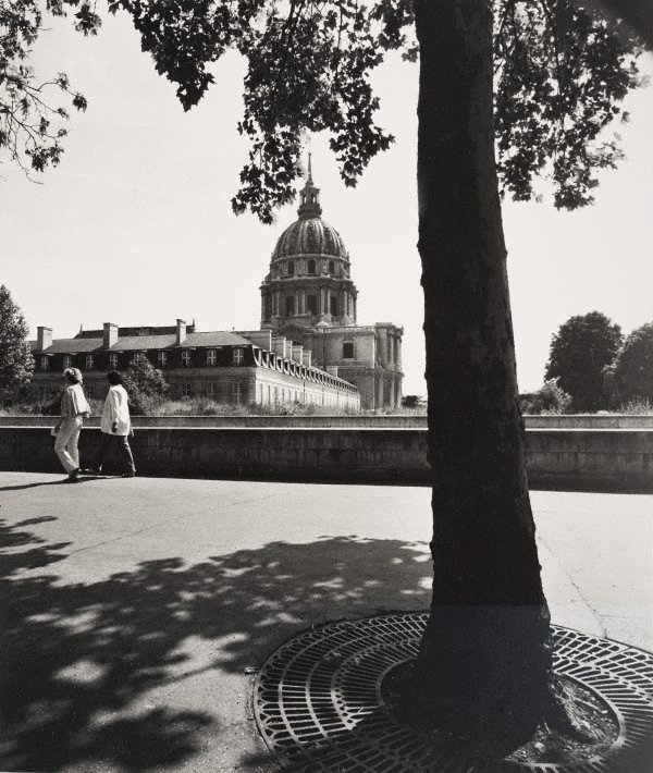 An image of Untitled (tree on Boulevard de la Tour Maubourg, with Hôtel des Invalides in the distance)