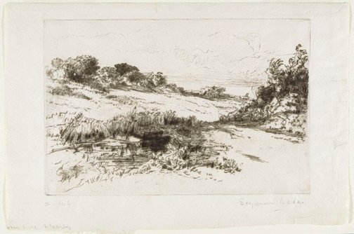 An image of Windmill Hill No.I by Sir Francis Seymour Haden