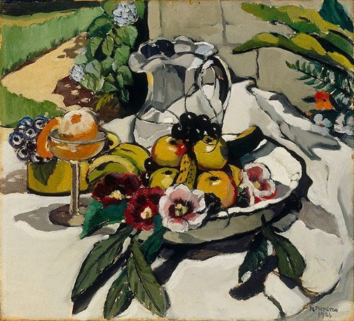 An image of Still life by Margaret Preston