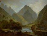 Alternate image of A view in Otaheite Peha by John Webber