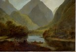 Alternate image of A view in Otaheite Peha by John Webber