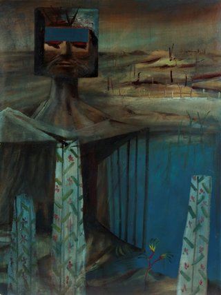 AGNSW collection Sidney Nolan Kelly (1956) 4.1984