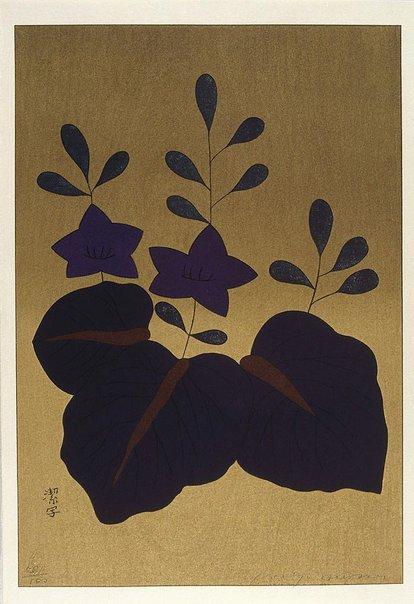 An image of December - paulownia by Awazu Kiyoshi