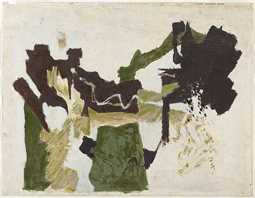 An image of Study for 'Green becomes black' by Carl Plate