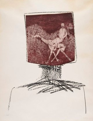 AGNSW collection Sidney Nolan Ned Kelly 1964