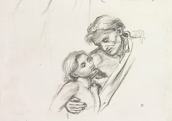 An image of Old man and boy