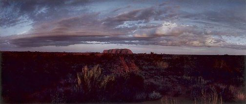 An image of Ayers Rock by Philip Quirk