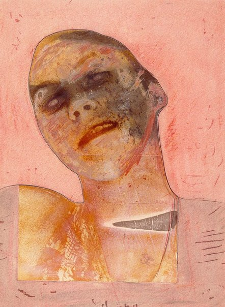 An image of Expulsion of Eve, series I, number 19 by Warren Breninger