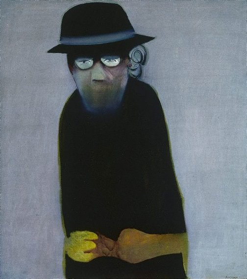 An image of The inmate by Charles Blackman
