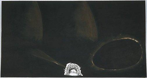 An image of L'Elefante di Giotto by Enzo Cucchi