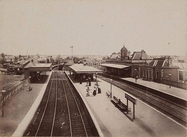 An image of Petersham Railway Station