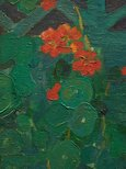 Alternate image of Nasturtiums by E Phillips Fox