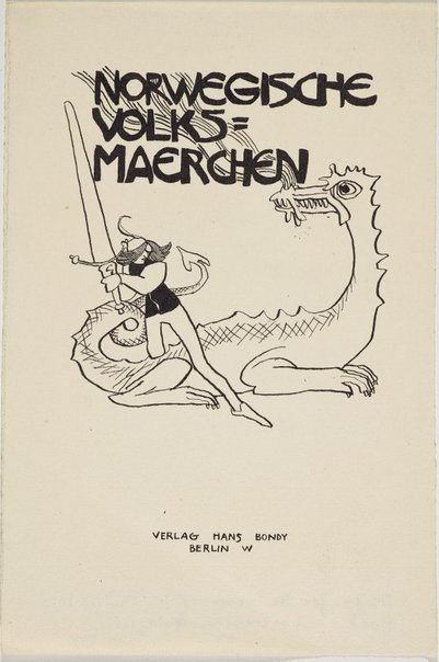An image of Norwegische Volks Maerchen by Lyonel Feininger