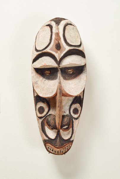 An image of Wanjagawi (mask) by Iatmul people