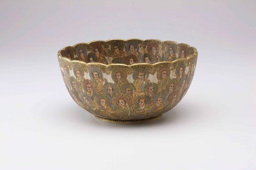 An image of Bowl by Hodota Takichi, Satsuma ware