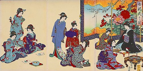 An image of (Untitled) by Toyohara (Yôshû) Chikanobu
