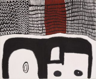AGNSW collection Lena Nyadbi Hideout (2002) 409.2003