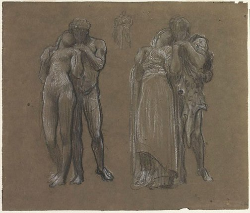 An image of Studies for 'Wedded' by Lord Frederic Leighton