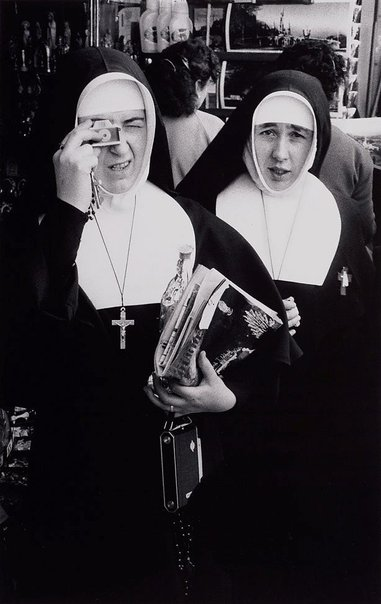 An image of Nuns at Lourdes Centenary, New York by David Moore
