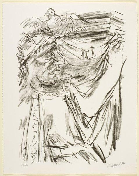 An image of 25. David's lament by Oskar Kokoschka