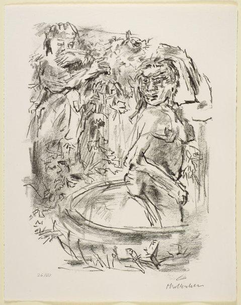 An image of 29. David and Bath-sheba by Oskar Kokoschka
