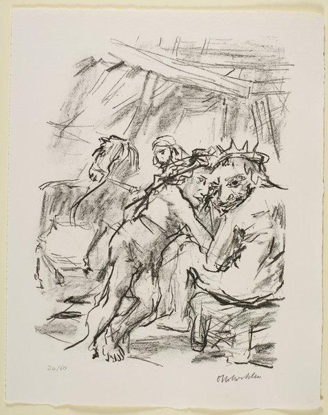 An image of 33. Reconciliation of David and Absalom by Oskar Kokoschka