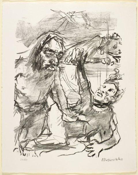 An image of 5. Saul delivereth Jabesh Gilead by Oskar Kokoschka