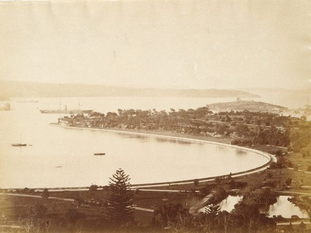 An image of Untitled (Harbour from Garden Island)