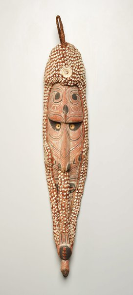 An image of Mei mask by Iatmul people