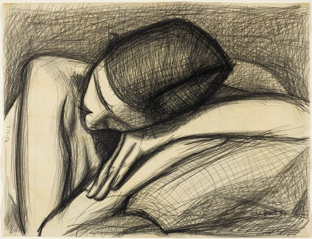 An image of Head and arms (Barbara Blackman)