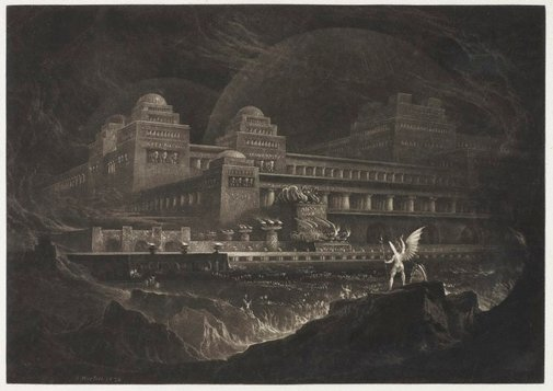 An image of Pandemonium by John Martin