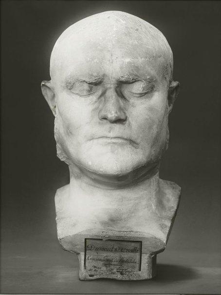 An image of Portrait of a life cast of Jules Sébastien César Dumont d'Urville by Fiona Pardington